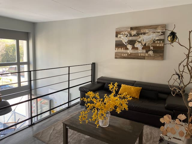 Superbe  LOFT 90 m2  5 P terrasse vue imprenable