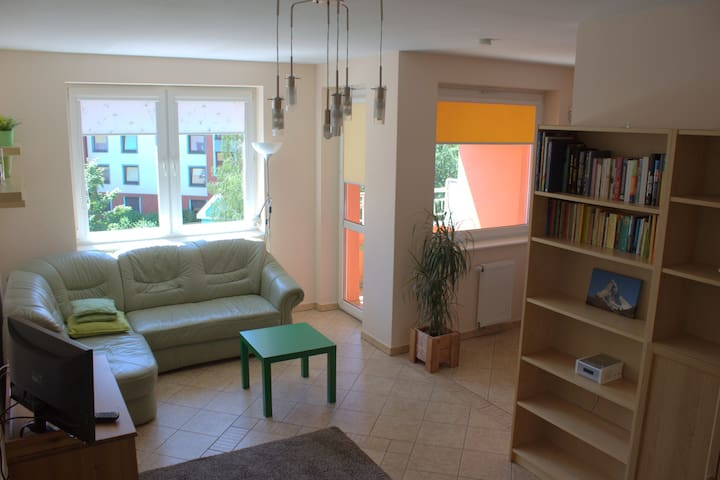 ♡ Cozy and sunny studio - 37sqm - Wrocław