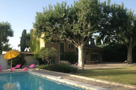Beautiful mas in the heart of Provence (Lubéron)