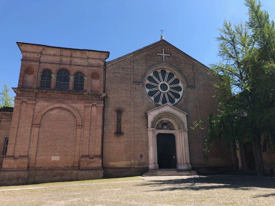 Basilica di San Domenico, adiacente all'appartamento