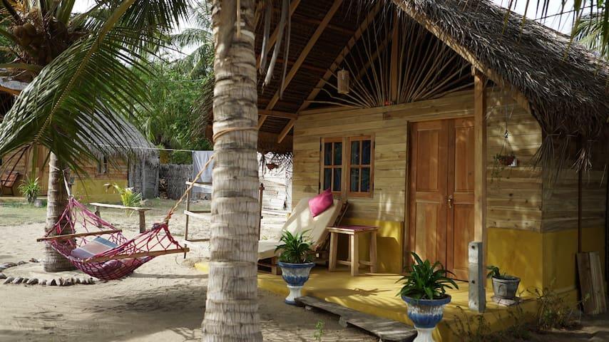 Amazing bungalow near kitesurfing lagoon