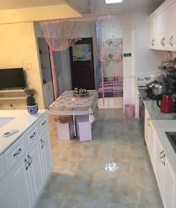 商圈近海欧式开放4人居浪漫小屋 - Rizhao - 连栋住宅