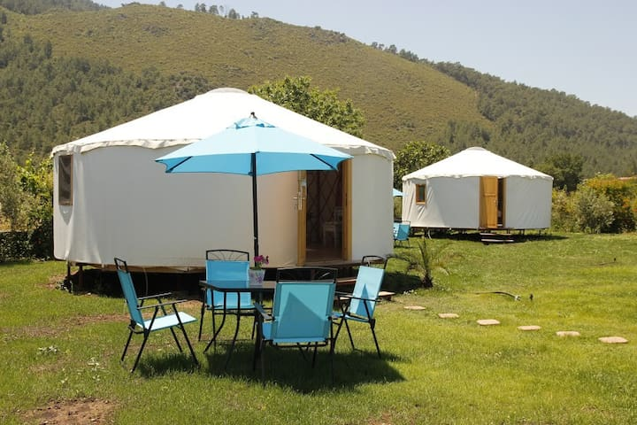 Kensington Palace@ Avalon Steppes Luxury Glamping - Kayaköy - Jurta