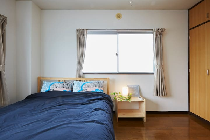 A huge room of up to 7people/Tokyo/Ueno/Wifi/012