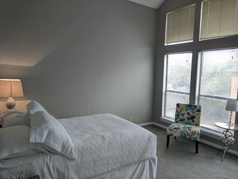 Plenty of natural light from large windows