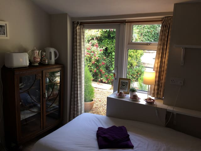 Cosy en-suite twin room - Conwy Valley