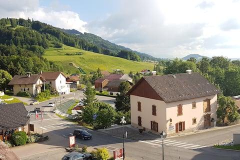 O Calme ! O cœur de la Montagne ! O Haute Savoie !