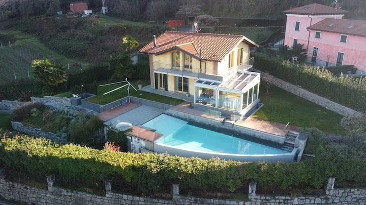The villa-Lago Maggiore- Luxury standing