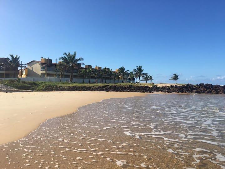 Chalé duplex para temporada na Praia de Buzios-RN.