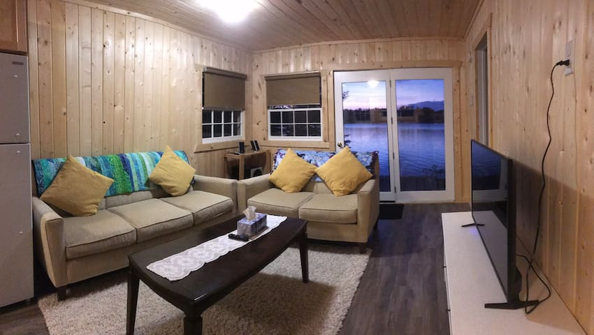 Lakeside AirB&B on Abram Lake