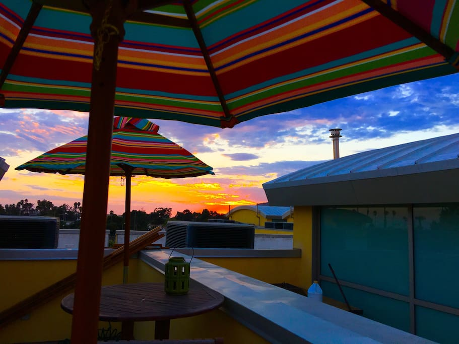 An amazing way to end your day , views of downtown Ventura, the blue pacific, and incredible sunsets