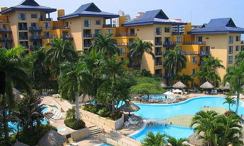 Suite en ZUANA BEACH RESORT - Santa Marta (distrito turístico, cultural e histórico) - Apartamento