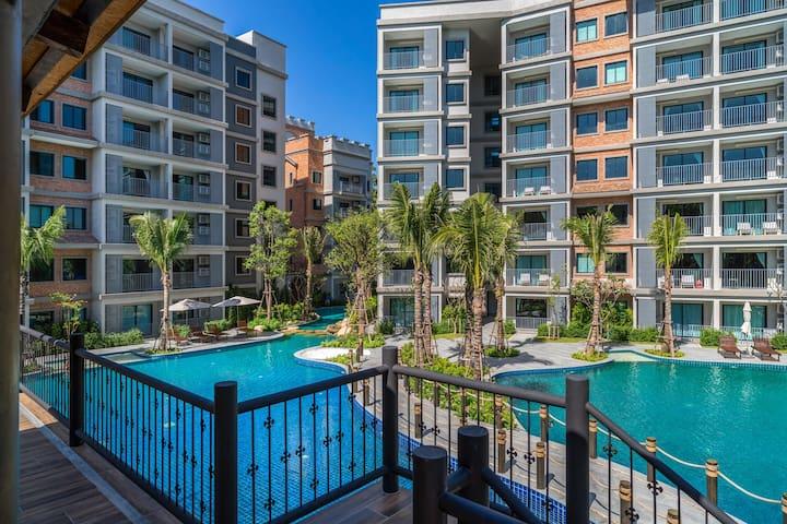 Charming 1 Bedroom Apartment@NaiYang beach –250m