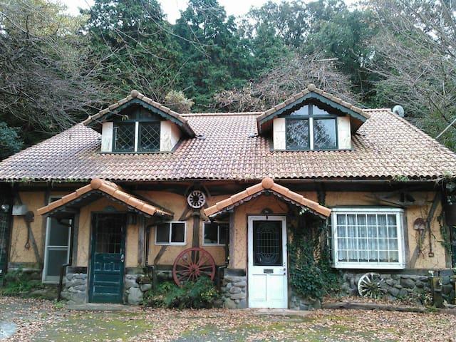 森の古民家  瞑想のできるキッチン付きの宿