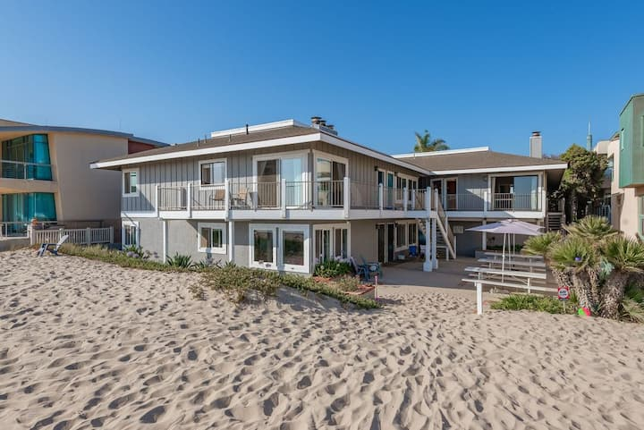 Carpinteria Beach front condo w/ FULL OCEAN VIEW