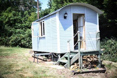 Lower Netherton - New cosy shepherd's hut