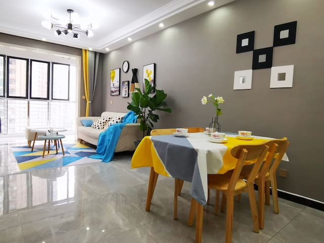 【别枝鹊•知意】周师万达旁/北欧两居室/可做饭/可洗衣