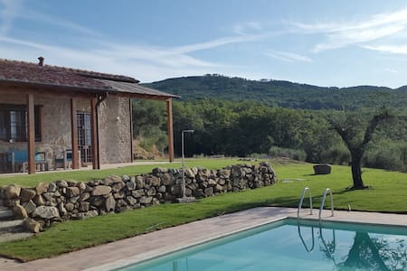 Di Colle in Colle-Country house with private pool