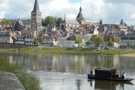 Maison dans Cité Médiévale et Ville du livre - La Charité-sur-Loire - Dom