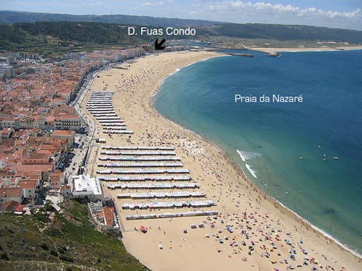 Nazare Ferias 2 Quartos Ed. frente da praia