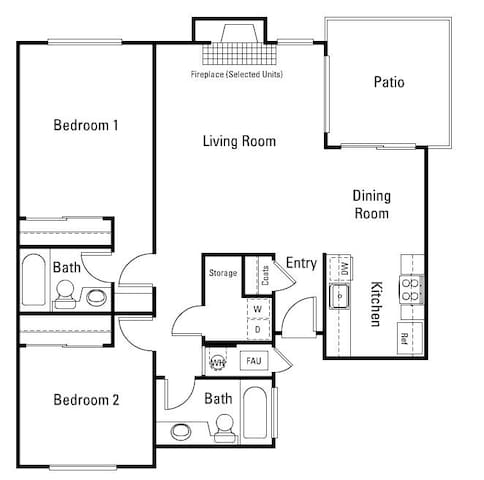 Huge Master Bedroom! Livermore Wine Country! - Pleasanton - Apartment