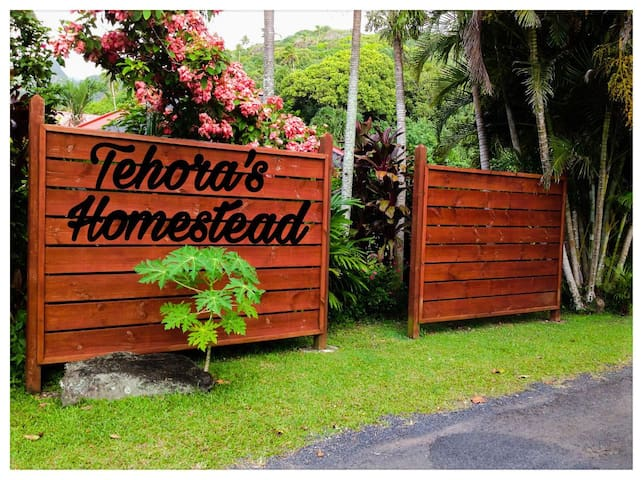 Relax In Paradise Tehoras Homestead - Ngatangiia - 一軒家