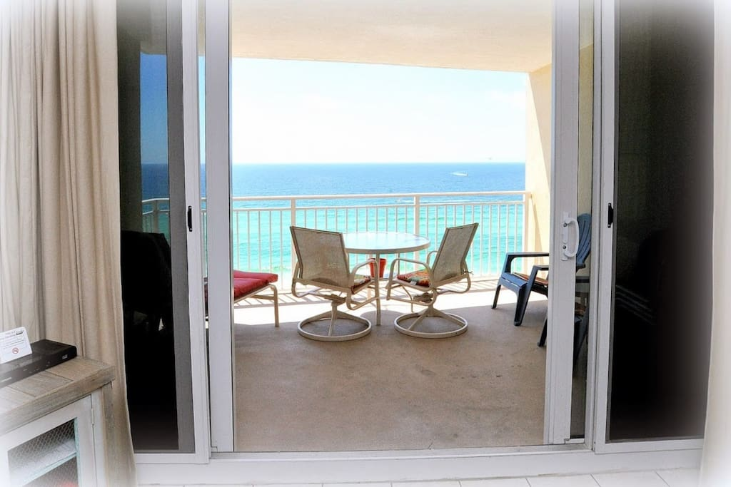 Balcony Access from this Living Area