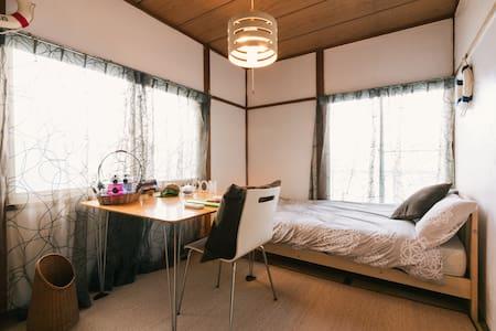 17min Hakata★Ocean★Free wifi★Cozy room★Relax - Appartement