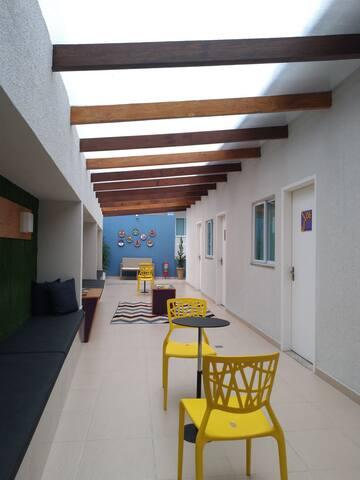 Lounge pensado especialmente para você - A lounge made specially for you