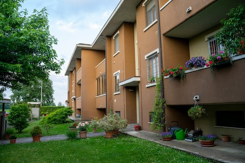 Apartamentai kaimiškoje aplinkoje - 4km nuo Piacenza