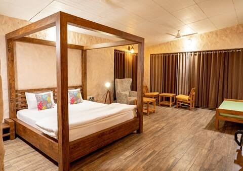 The Satpura Panchtatva Villa-Aakash/Vayu-FullBoard