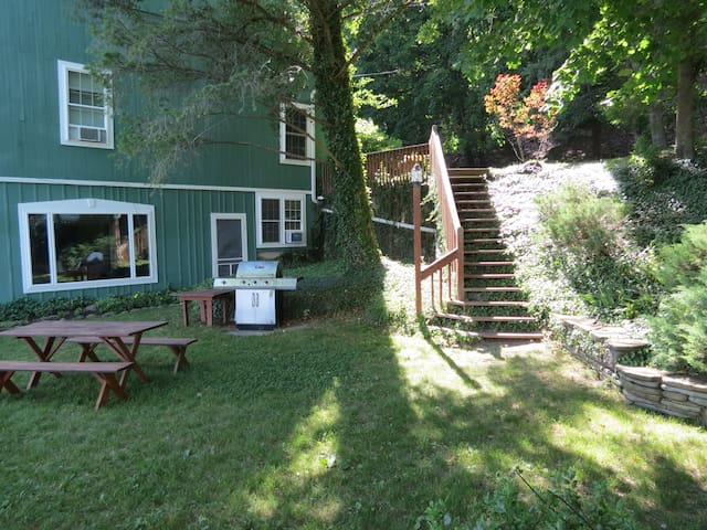 The Green Barn on Keuka Lake near tip of Bluff - Keuka Park - Apartamento