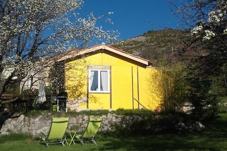 Holiday home with big garden - Bézaudun-les-Alpes - Talo