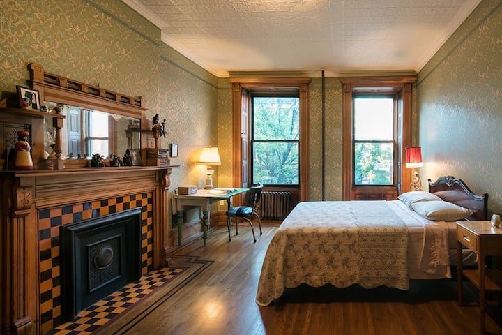 The Chester Himes Room at Harlem Townhouse