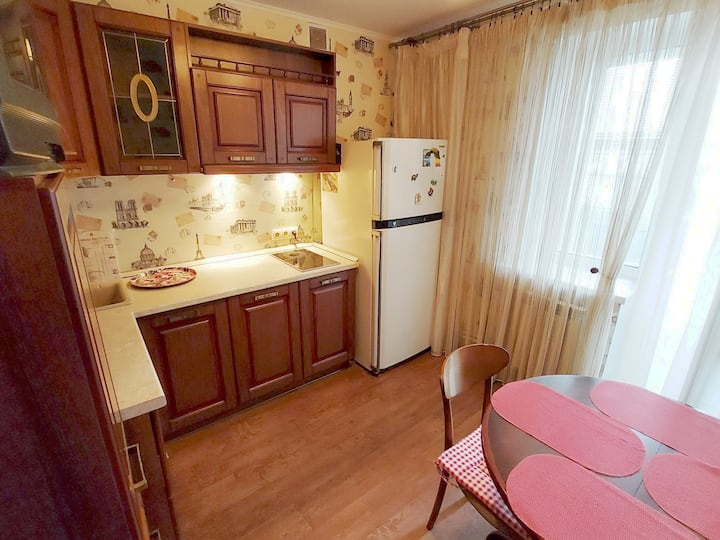 Квартира с видом на Волгу.