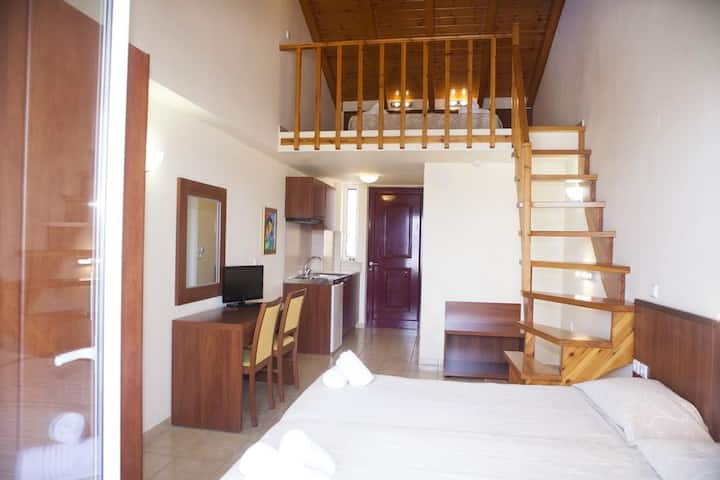 Apartment Split Level with Balcony