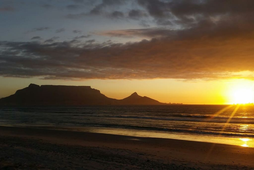 Experience a true Cape Town sunset.