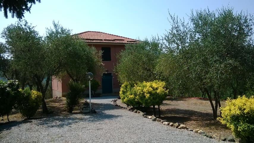 Accogliente villetta nel verde - Casarza Ligure - Apartamento