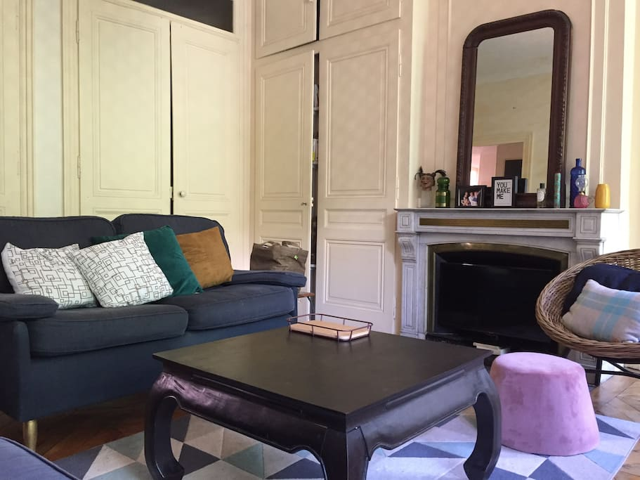Salon avec internet et TV, sans vis-à-vis