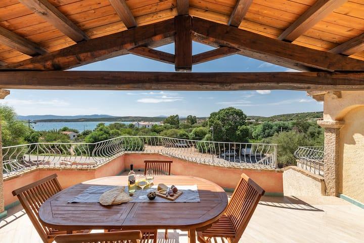 CASA MARINA: deliziosa casa dalla vista mozzafiato