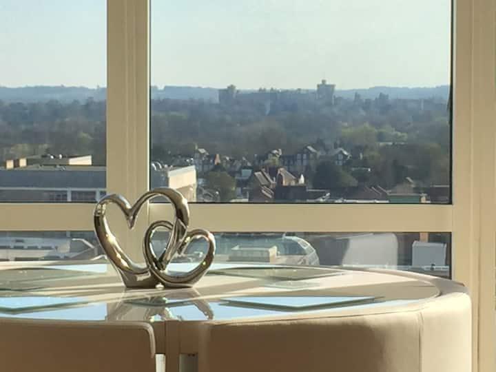 Penthouse Views London Heathrow & Windsor Castle