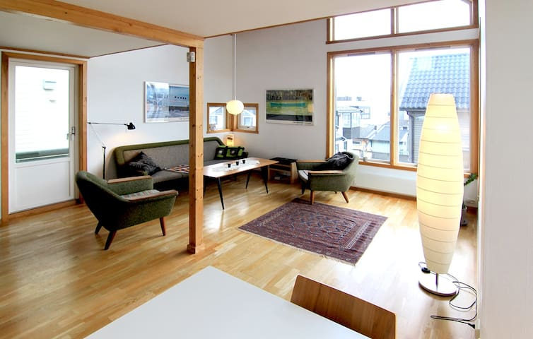 Bright, spacious house in the heart of Tromsø