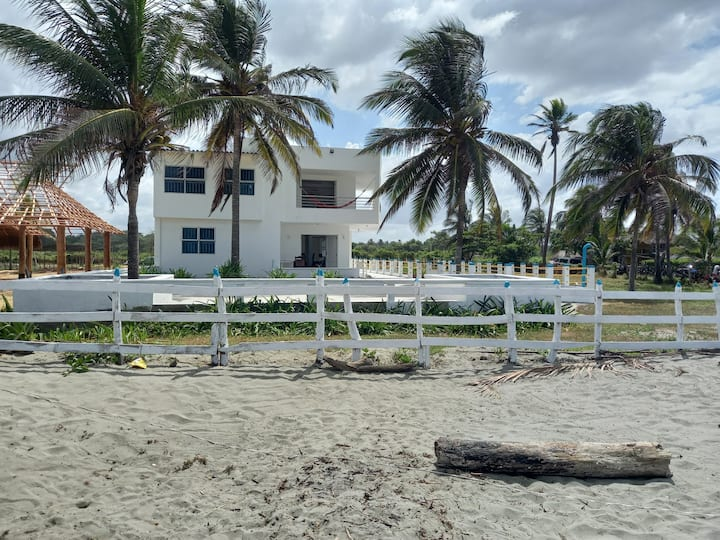 Casa frente al Mar, 4 habitaciones