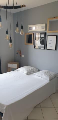 Chambre 2 lit 140x190