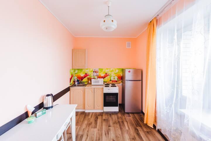 1-комнатная квартира №54, Ул. Богомякова 2