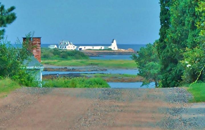 "Kennebunkport- Cape Porpoise -  ""Yankee Shamrock"""