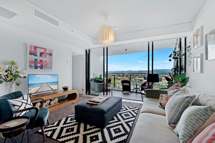 Beautiful 1 bedroom apartment in the heart of Broadbeach @ Sierra Grand
