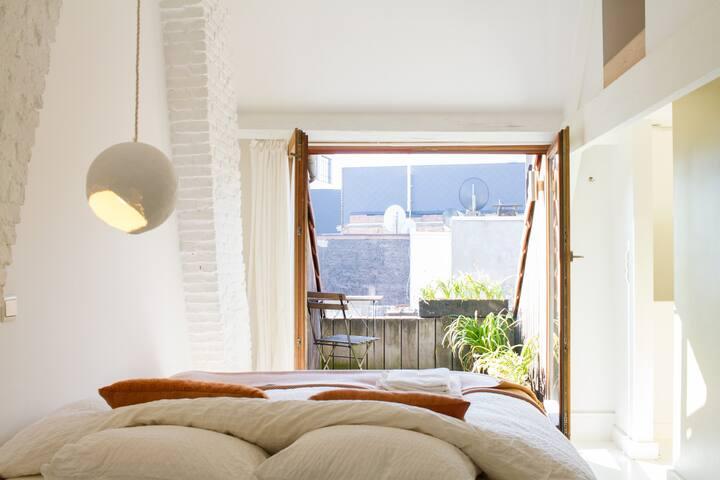 +++blancoooHENRI+++ balcony - Antwerpen - Apartemen