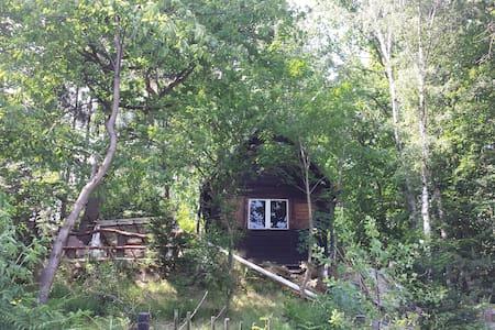 Wanderhütte der Zweisiedler - am Malerweg
