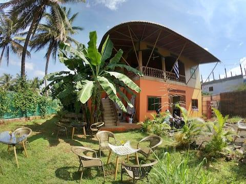 Traditionelles Khmer-Haus mit allem Komfort!